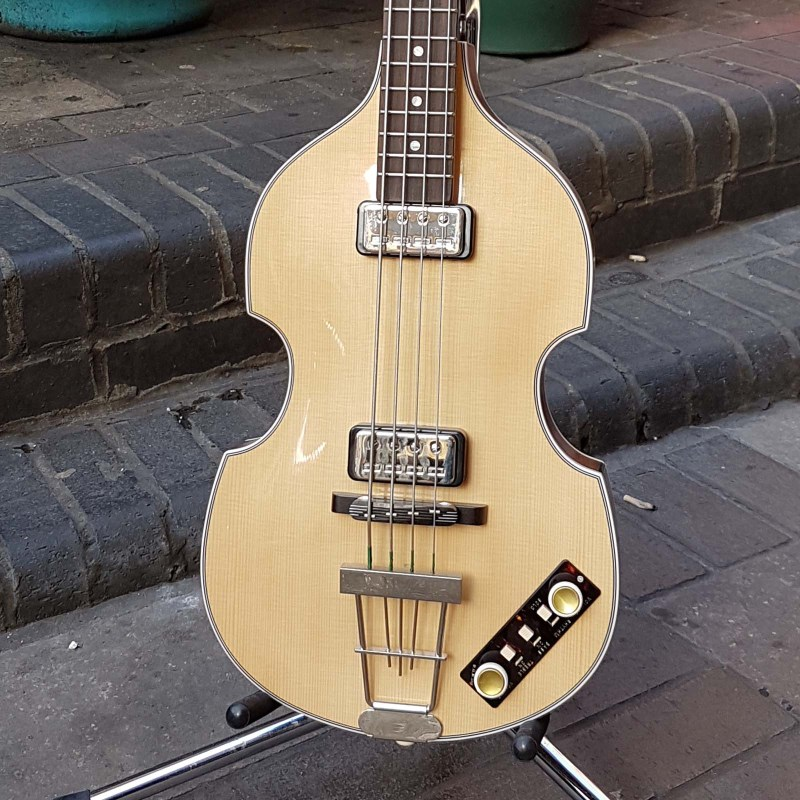 Violin Bass Special veneer Gold Label