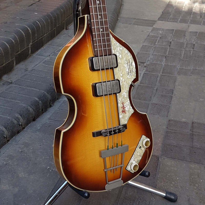 violin bass 75th anniversary