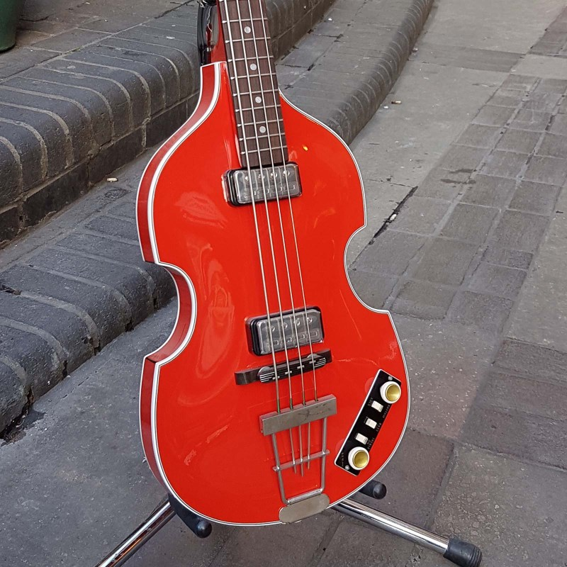 Violin Bass Berlin Red Gold Label