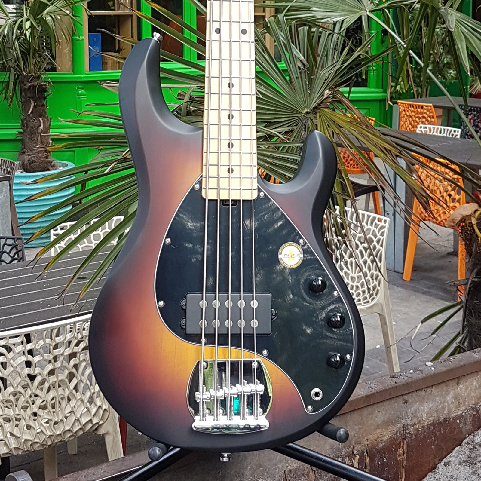 Musicman Sterling SUB RAY 5-string Bass Sunbu ....
