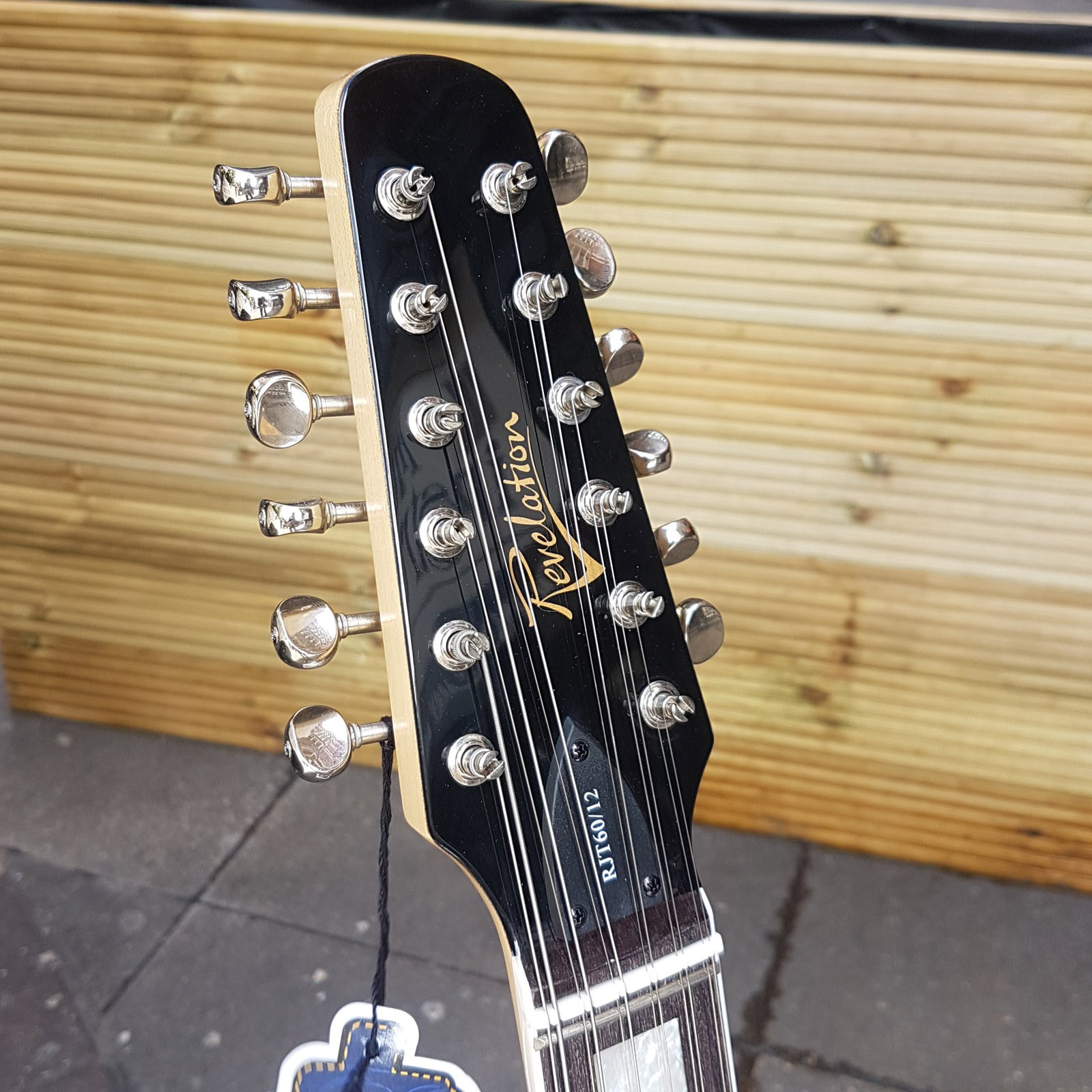 RJT 60 12 string sunburst