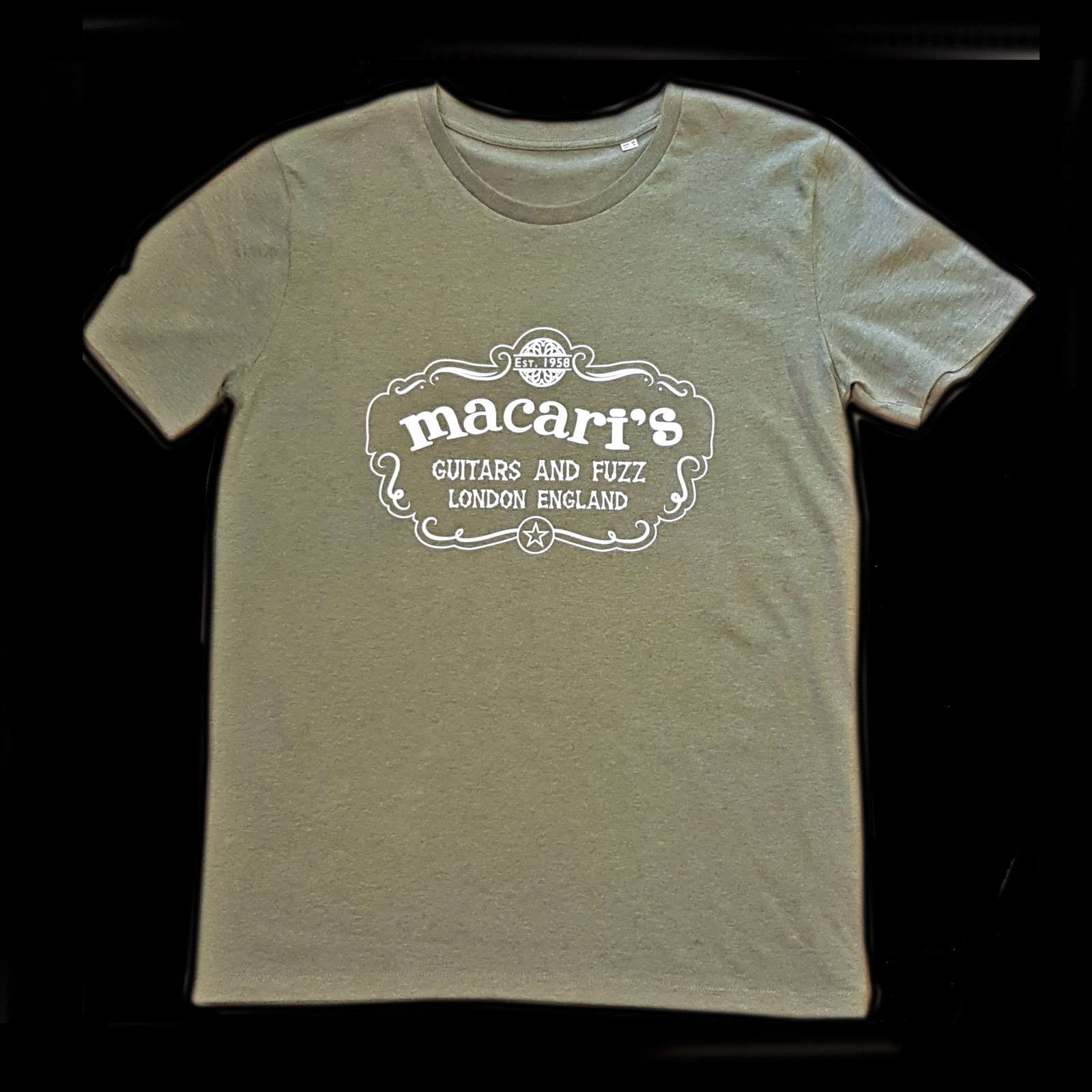 Macaris T Shirt Heather Green M/L