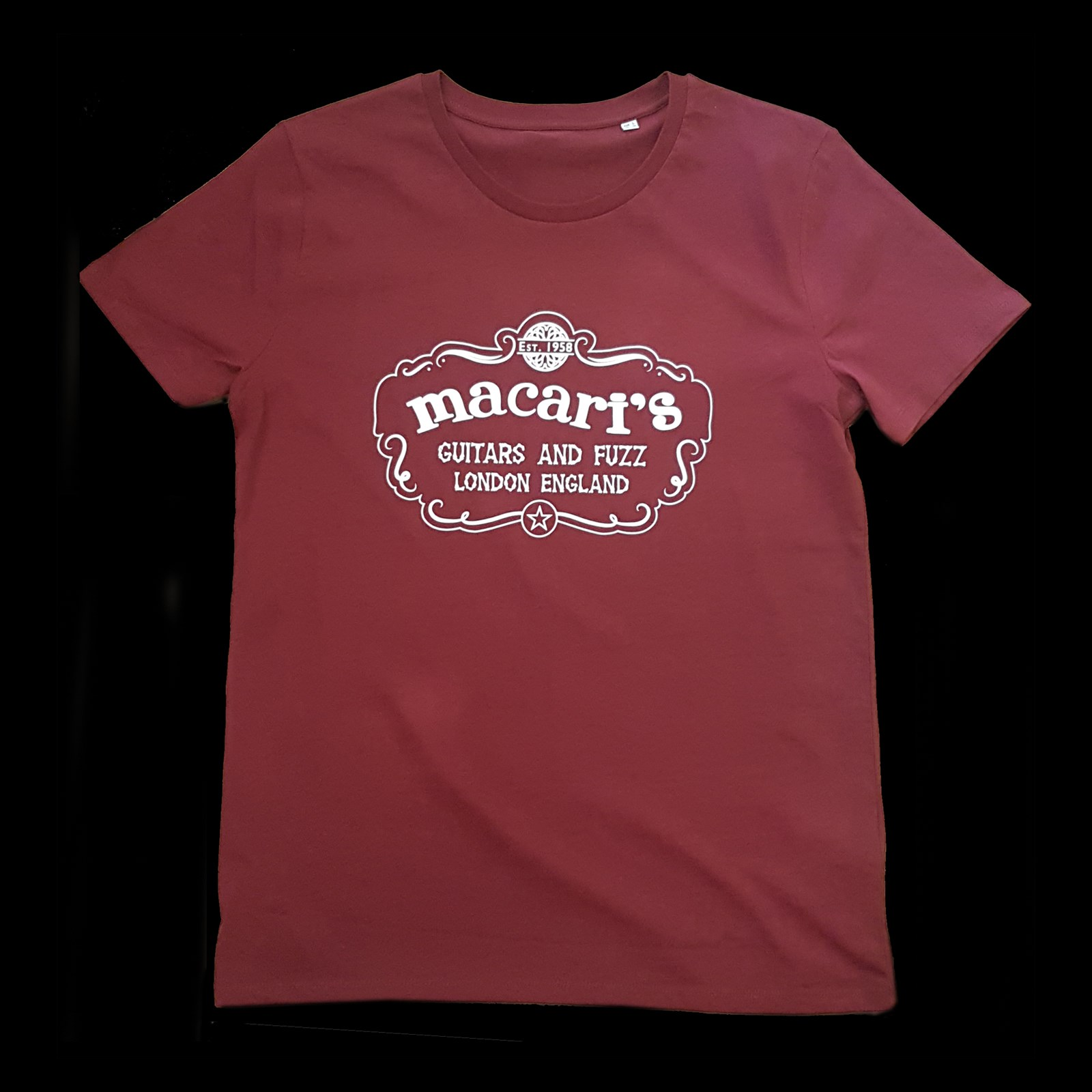 Macaris T Shirt Burgundy M/L